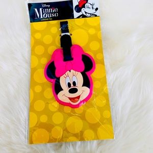 Cute Minnie Mouse Luggage Tag